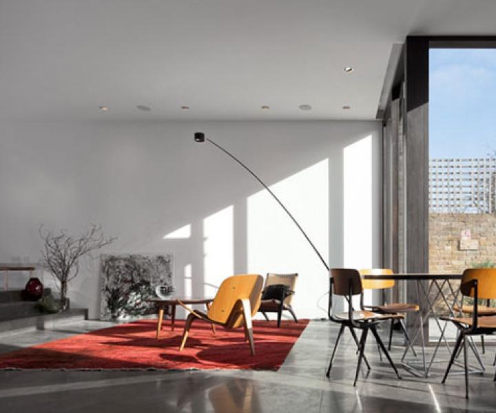 House on Faroe Road by Paul+O Architects in West Kensington, London, UK