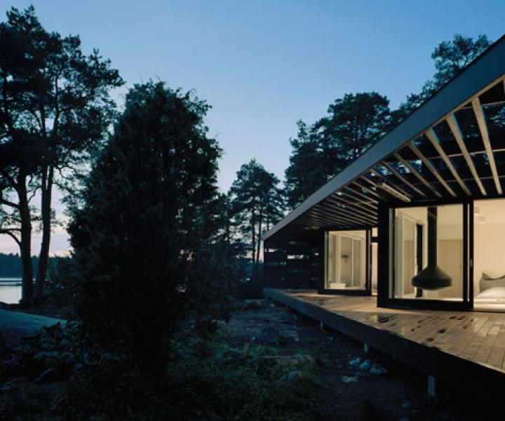 Archipelago House by Tham & Videgård Architects in Stockholm, Sweden