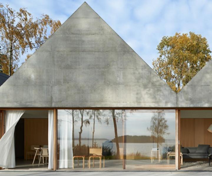 Summerhouse Lagnö by Tham & Videgård Arkitekter In Västra Lagnö, Sweden