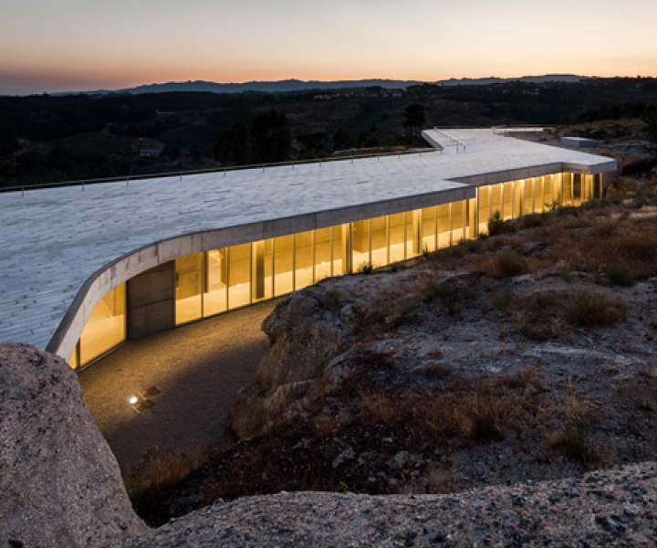 A World Of Wine: Quinta de Lemos by Carvalho Araújo Architects In Silgueiros, Portugal