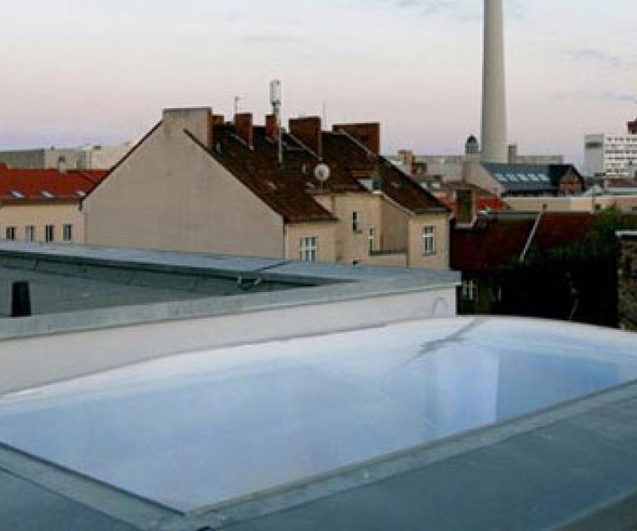 the smallest pneumatic mono roof of the world by5elf
