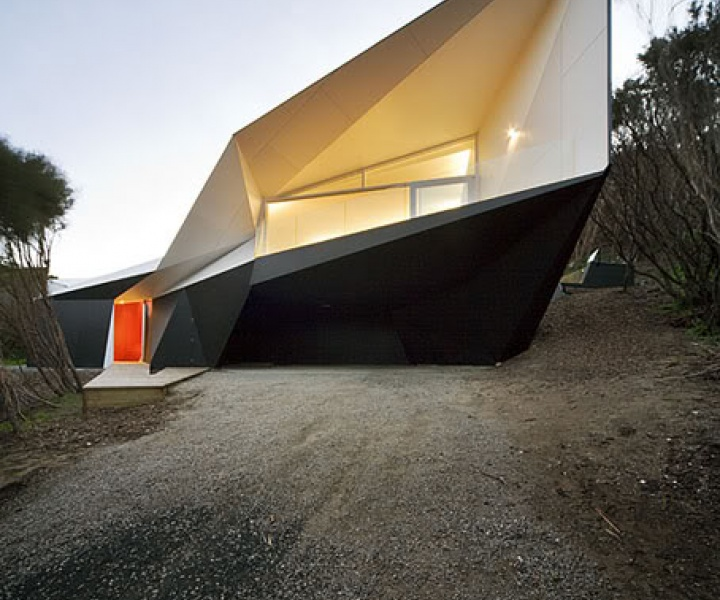 Klein Bottle House by McBride Charles Ryan architects in Australia