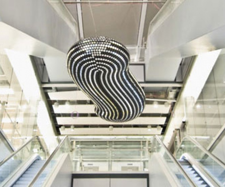 """Cloud"" & ""All the Time in the World"" artworks by Troika for British Airways Terminal 5"