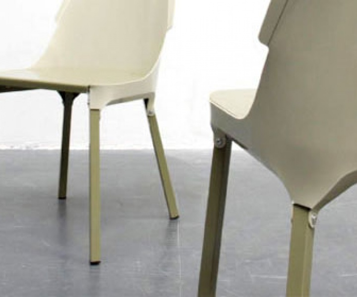 plastic chair by Raphaël von Allmen