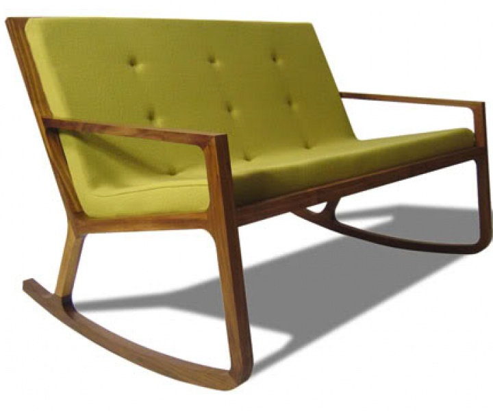 Double Rocking Chair by James Design UK