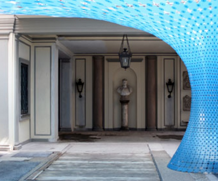 Christoph Klemmt's stunning vortex-shaped OR installation