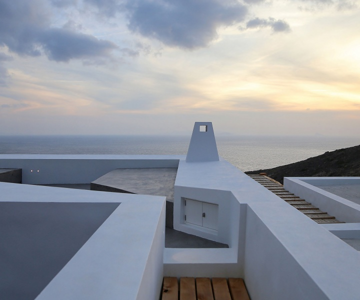 A Pair of Summer Houses on Syros, Greece by Block722 Architects