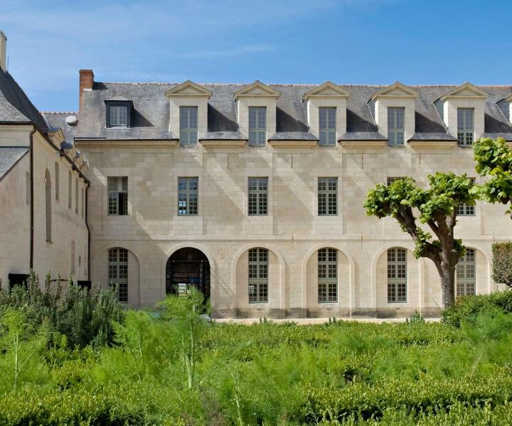 The Abbaye de Fontevraud Hotel in Anjou, France