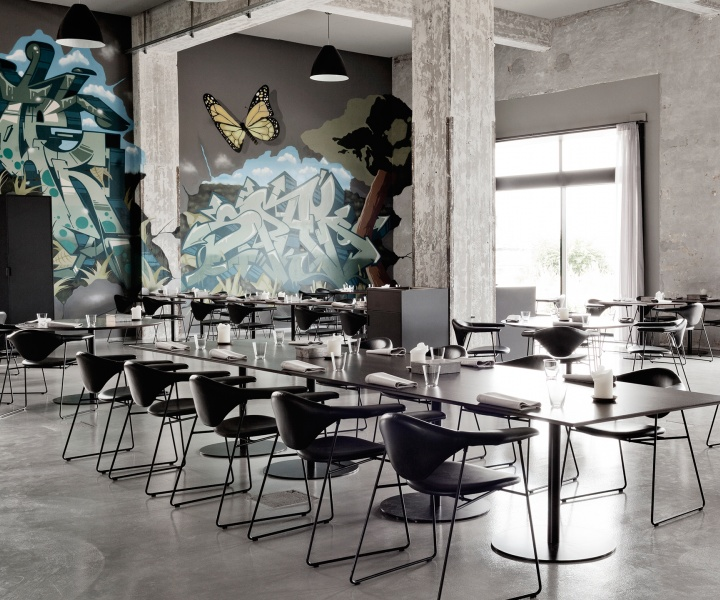 A Former Shipyard Building Is Transformed Into The AMASS Restaurant In Copenhagen