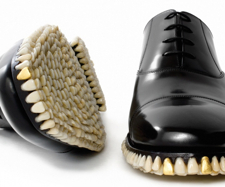 Harder, Stronger, Richer: Teeth-Laden Fashion for the 1% by Fantich & Young