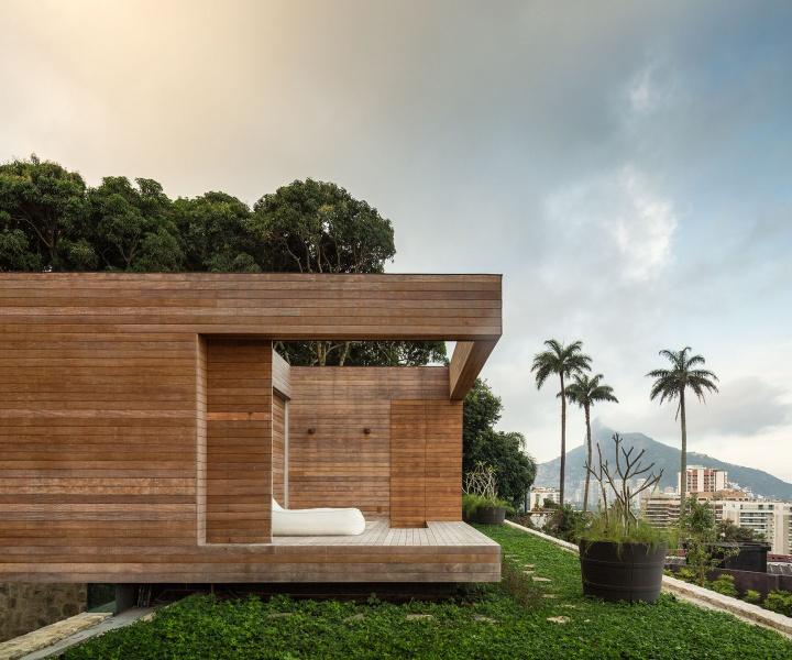 The Rio de Janeiro Home of Alex Lerner by Arthur Casas
