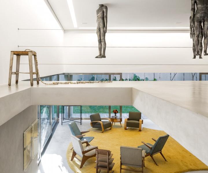 Isay Weinfeld's Casa Cubo in São Paulo, Brazil