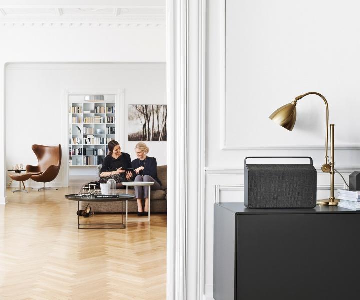 The 'Copenhagen' Portable And Wireless Speaker by Vifa