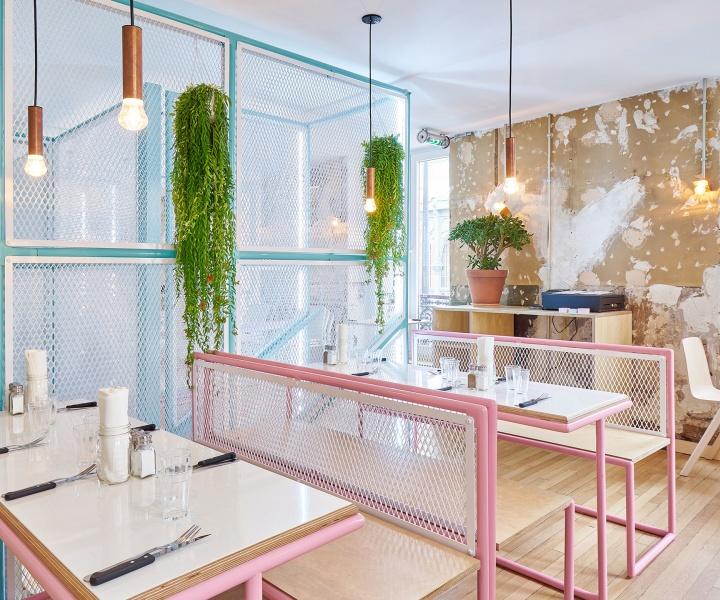 PNY Restaurant in the Marais, Paris by CUT Architectures