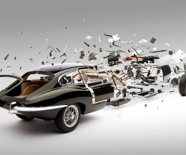 The Slowest High-Speed Images Of Bursting Cars Ever Captured