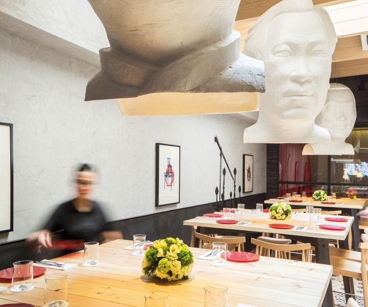 FOC Restaurant in Singapore by Lagranja Design Studio