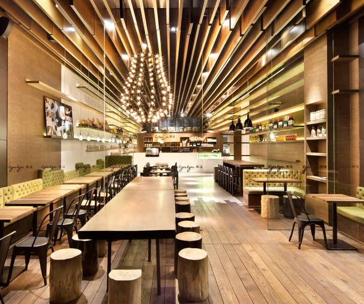 GAGA Deli And Eatery In Shenzhen, China