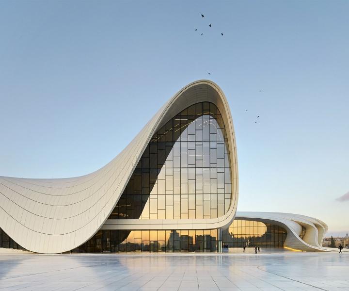 The Heydar Aliyev Center By Zaha Hadid Architects In Baku, Azerbaijan