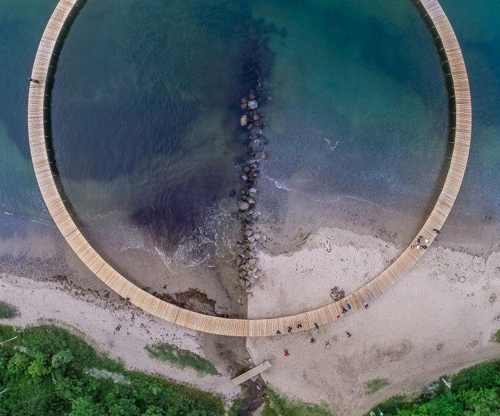 The Never-Ending Promenade of the Infinite Bridge by Gjøde & Povlsgaard Arkitekter