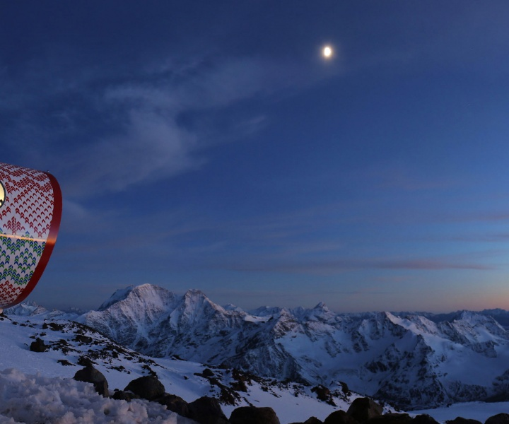 LEAPrus 3912: Living In A Fibreglass Tube On Mount Elbrus In Caucasus, Russia