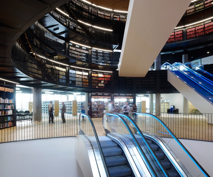 The Library Of Birmingham By Mecanoo Architects