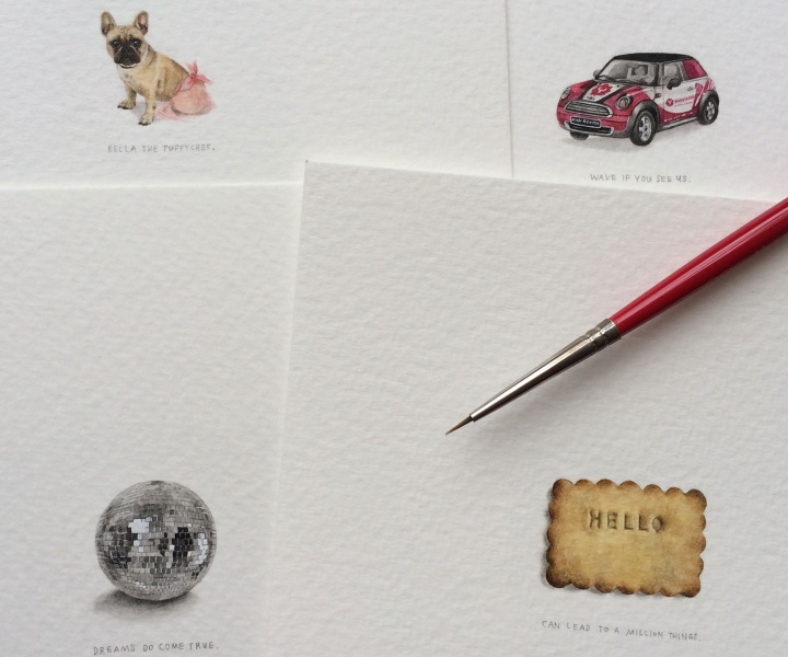 A Miniature Painting a Day by Lorraine Loots