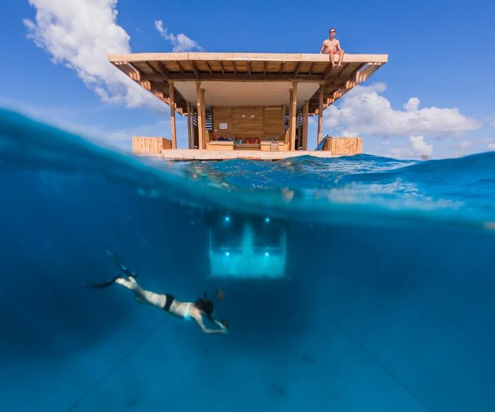 The Manta Resort's Underwater Room Off Pemba Island, Tanzania