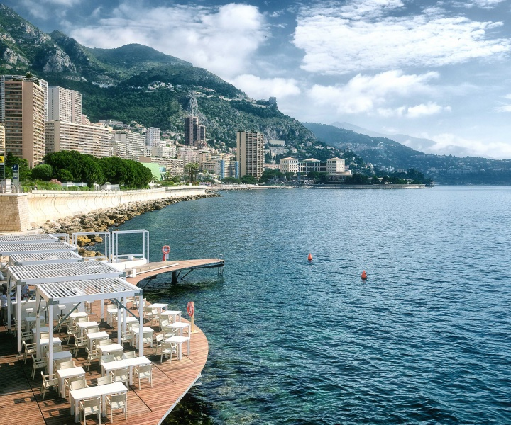 The New Floating Terrace At The Monaco Life Club