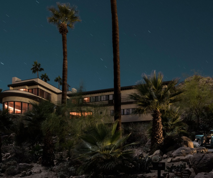 Moonlit Modernist Villas by Photographer Tom Blachford