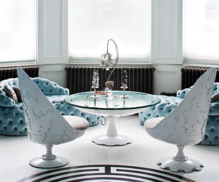 The London Home of Designer Danielle Moudaber