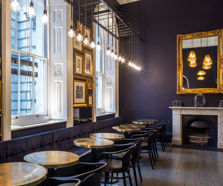 Pennethorne's Cafe Bar in London by SHH Architects