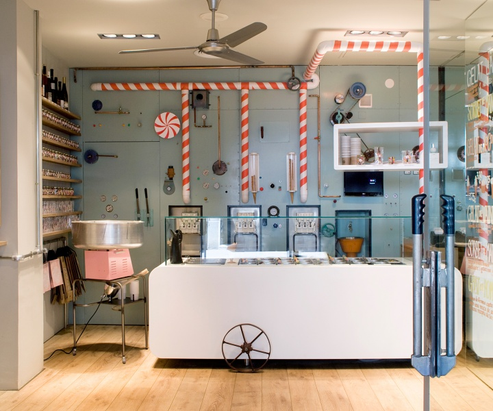 Rocambolesc Ice Cream Parlour In Girona, Spain