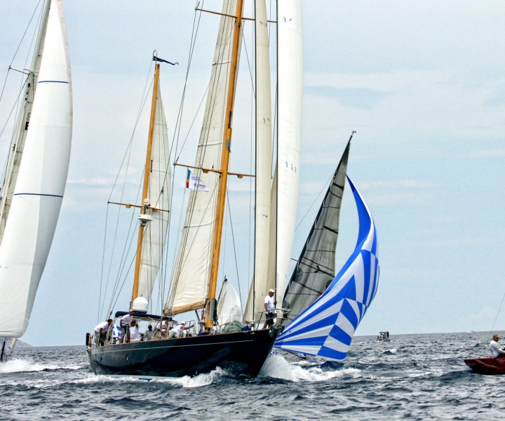 Yacht Racing In Spetses With A 'Salty Bag'