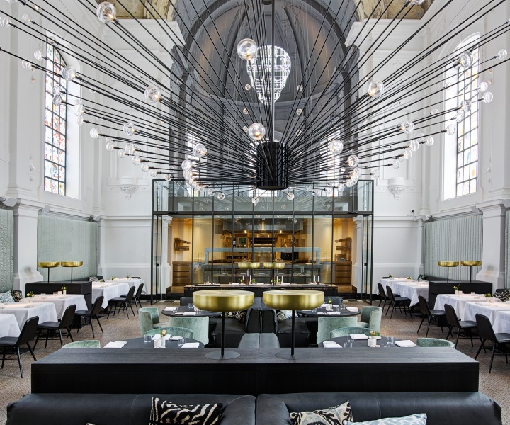 Piet Boon Studio Transformed A church Into 'The Jane' Restaurant in Antwerp