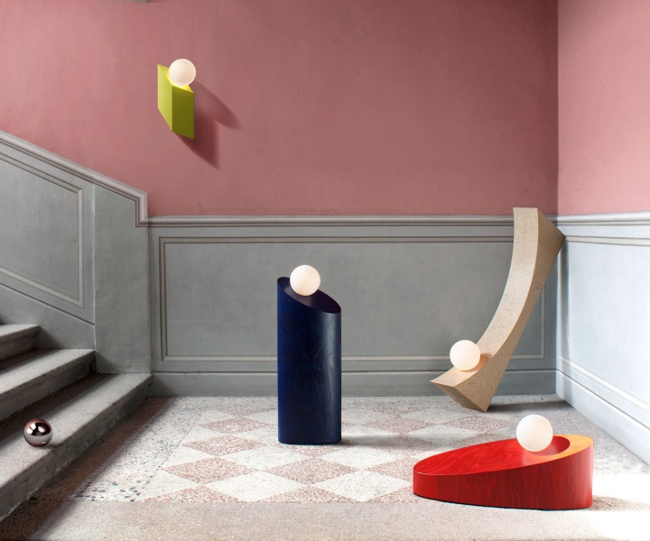 'In the Shadow of a Man' Collection of Sculptural Light Objects by Child Studio