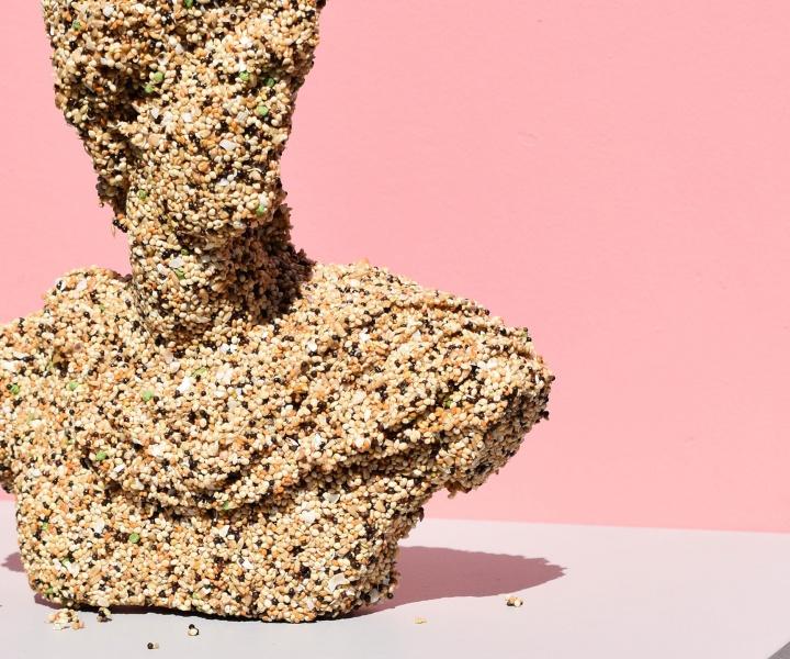 The Apollo Bird Feeder by Melbourne-based designer Vas Pittas