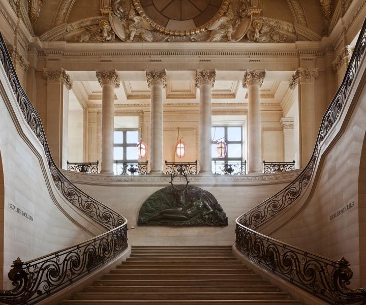 Café Mollien: the Louvre Under New Light by Mathieu Lehanneur