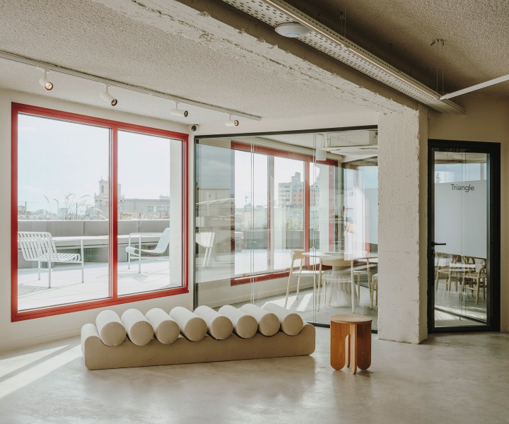 Views of Barcelona Take Centre Stage in Cloudworks' Newest Coworking Space by MESURA