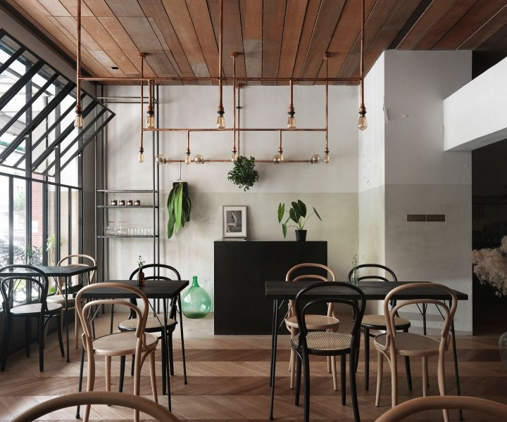 A Baking Studio in Taiwan Draws on French Finesse with Industrial Simplicity