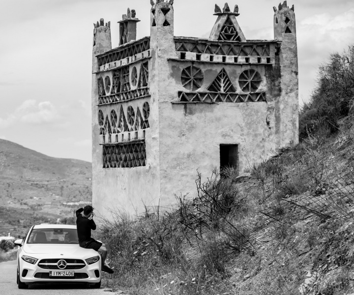 A Midsummer Day's Dream in the New A-Class on Tinos Island