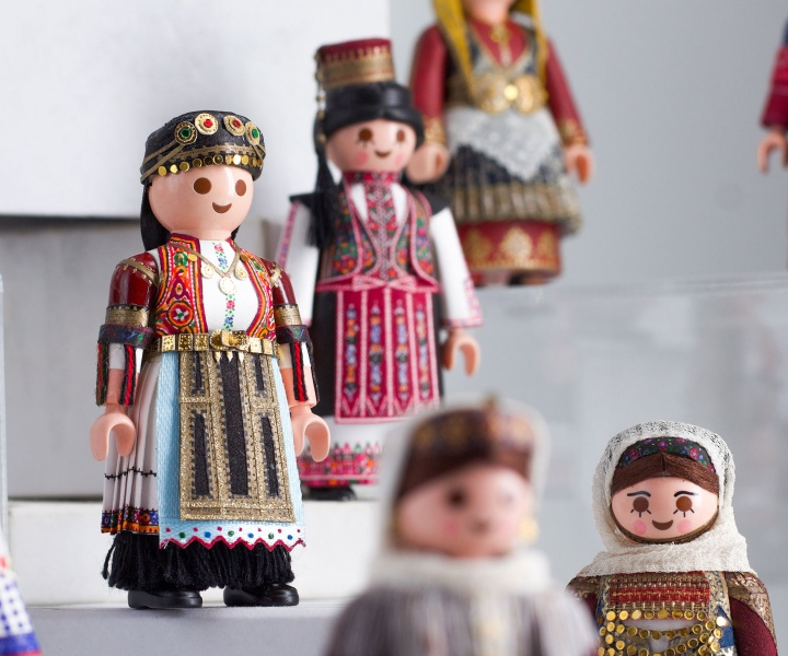 PlaymoGreek: Petros Kaminiotis Playfully Celebrates the Richness of Greek Folk Costumes