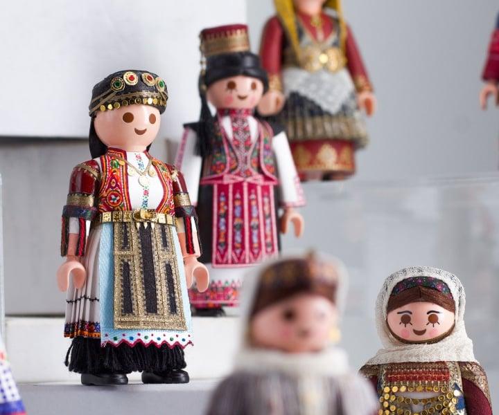 PlaymoGreek: Petros Kaminiotis Playfully Celebrates the Richness of Greek Folk Costumes