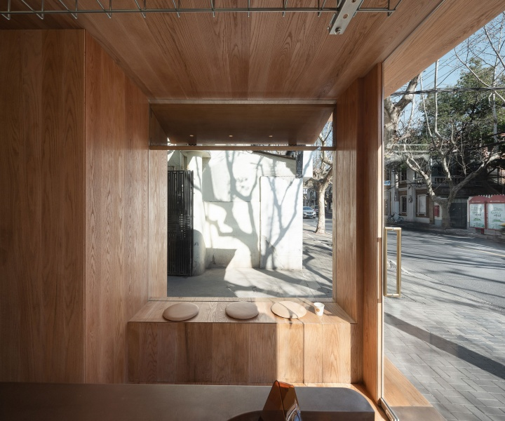 A Café in Shanghai Combines a Stripped-Down Aesthetic with Well-Crafted Details