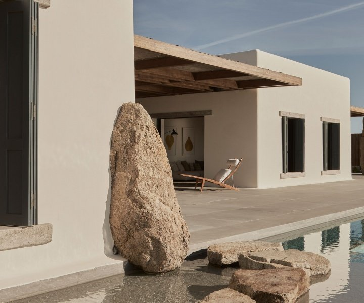 Form Follows Emotion in K-Studio's Villa Mandra in Mykonos