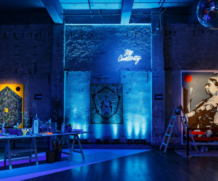 Bombay Sapphire's Zestful Mission to Stir Creativity Arrives in Athens