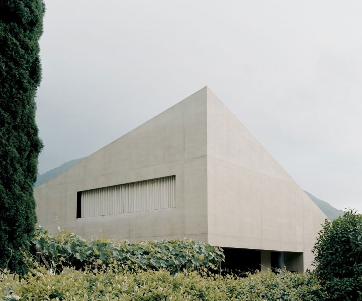 Pyramid House: A Monolithic Exterior in the Swiss Alps Belies a Porous Interior