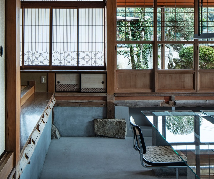 A Sense of Contemporary Sophistication Transforms a Traditional Japanese House into a Modern Workplace