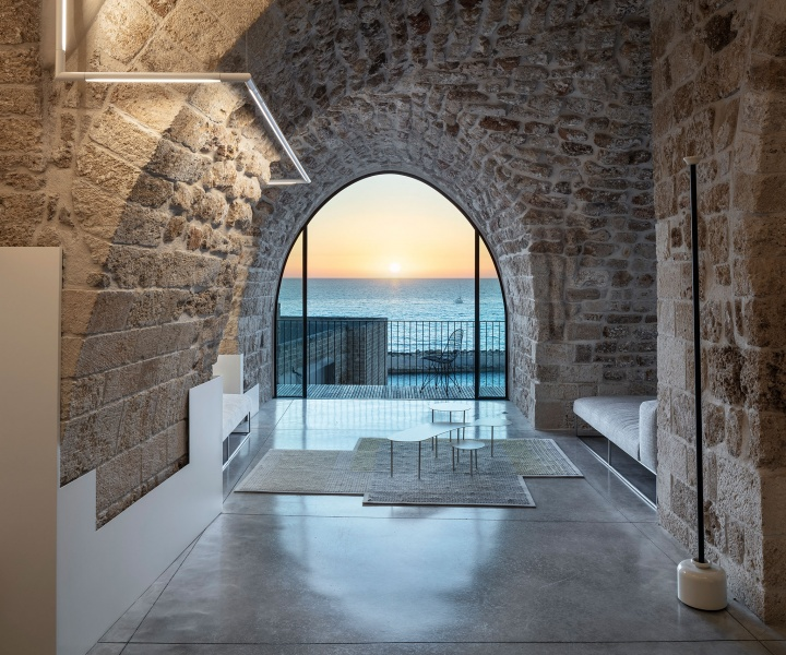 Pitsou Kedem Architects Revamp a 300-Year-Old House in Old Jaffa, Israel