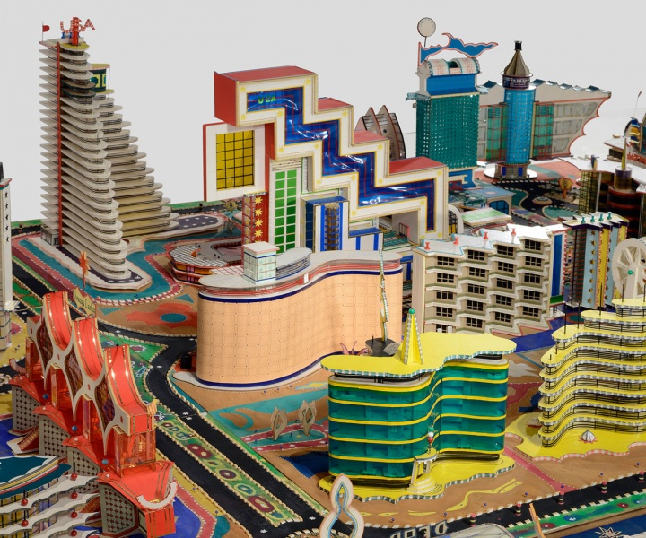 The Phantasmagorical Cityscapes of the Late Bodys Isek Kingelez at MoMA