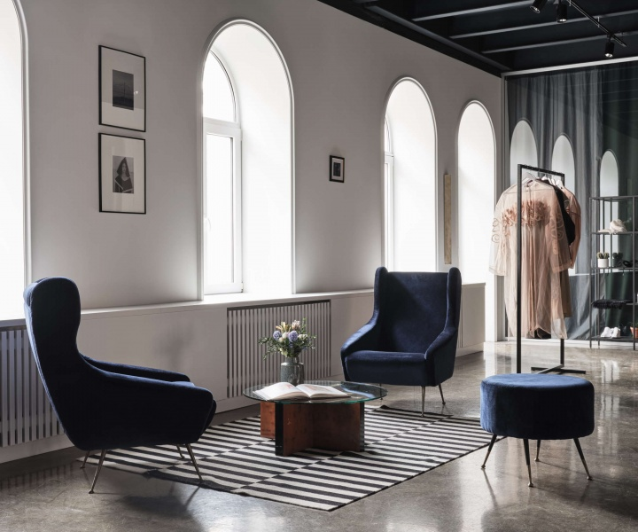 Litkovskaya's Kiev Showroom Embodies the Fashion Brand's Laconic Sophistication